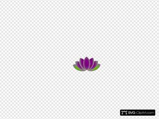 Lotus Flower Black Final Smallest