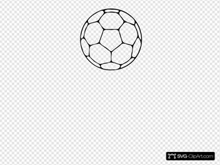 Handball Ball SVG Clipart