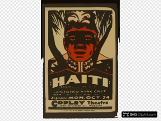 Haiti  A Drama Of The Black Napoleon By William Du Bois : With The New York Cast.