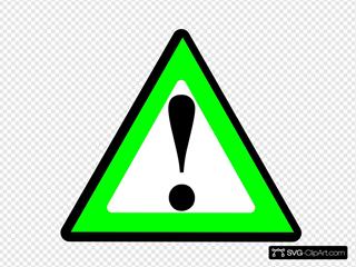 Black Green Warning 1