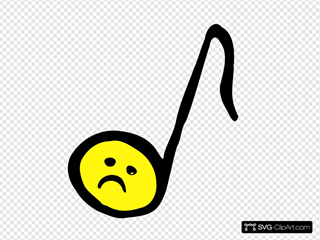 Unhappy Eighth Note