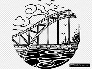 Bridge Over River 2