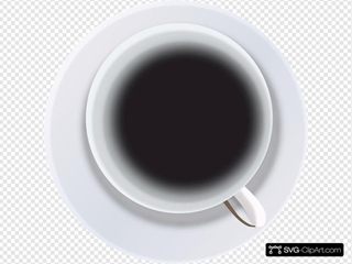 Coffee Cup From Top