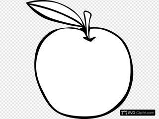 Apple Coloring Fruit