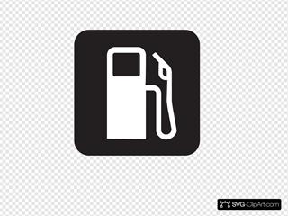 Gas Station Black