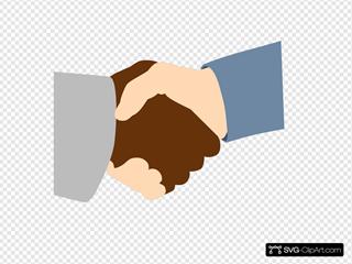 Handshake SVG Clipart