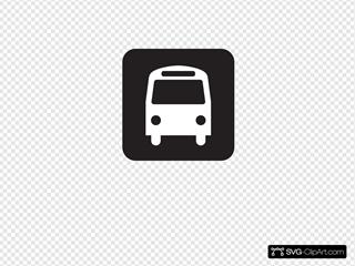 Bus Stop Black