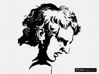 Face Expression Roman Man