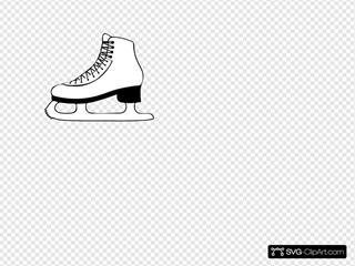 Blk & Wht Skate