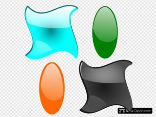 Glossy Shapes 2