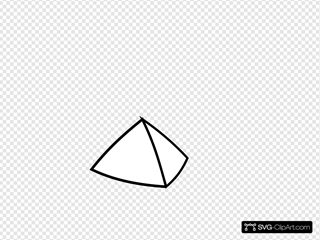 Pyramid Black And White Clipart
