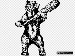 Bear With A Club