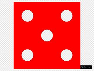 Red Die 5