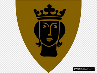 Swedish Coat Of Arms Black
