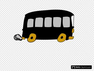 Black Gold Charter Bus
