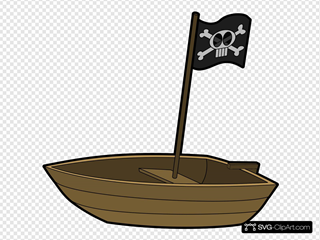 Pirate Flag Boat