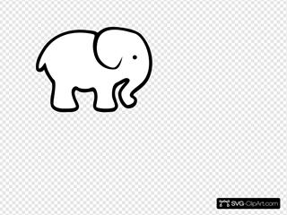 Personalized Birthday Elephant