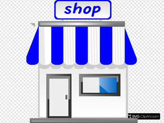 Shop With Awning