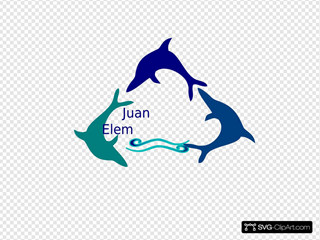 Blue Wave Dolphin