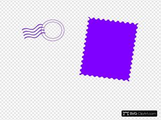 Violet Stamp