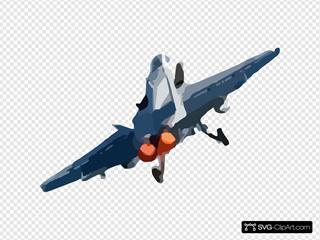Hornet Takes Off