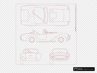 Shelby Cobra Blueprint