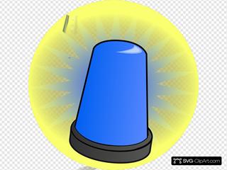 Blue Light Alarm