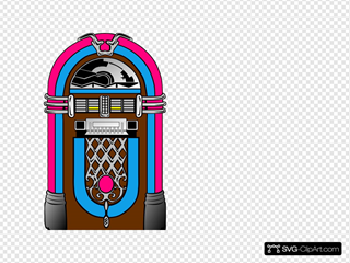 Pink And Blue Jukebox