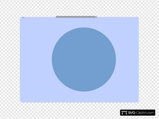 Blue Exit Button 3