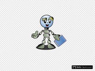 Robot Person Cartoon