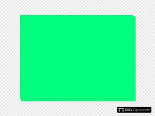 Green-blue Sticky Note