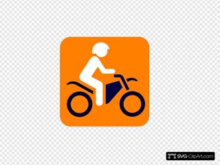 Motorbike SVG Clipart
