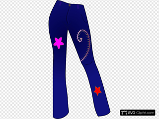 Women Clothing Jeans With Patterns