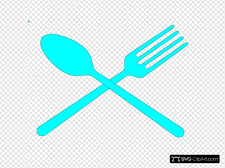 Fork And Spoon Cross