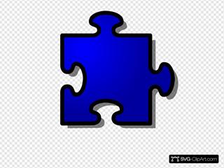 Jigsaw Blue Puzzle
