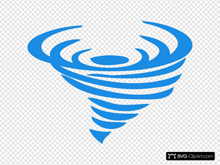 Blue Wind Logo Tp