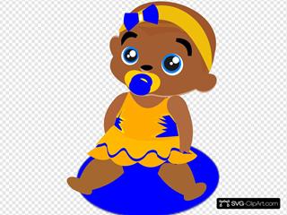 Blue &yellow Baby