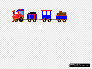 Choo Choo Train With Cars