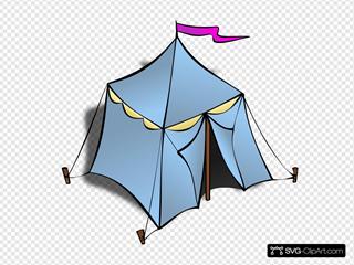 Rpg Blue Map Tent Symbol