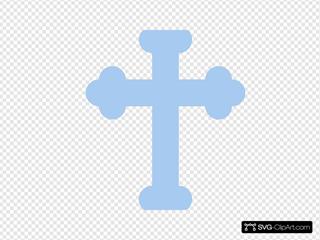 Light Blue Cross