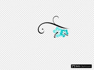 Hibiscus Swirl