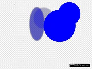 Thumbtack Blue Blue