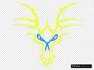 Yellow Dragon Icon
