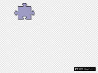 Jigsaw Blue