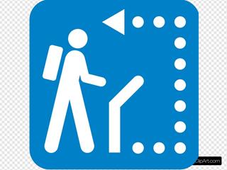 Follow Path Clipart