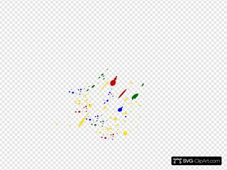 Paint Splatter Colors