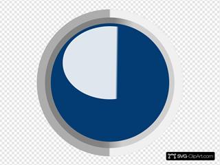 Dark Dark Blue  Led Circle 3