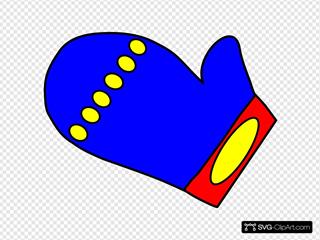 Blue Mitten