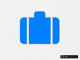 Light Blue Baggage