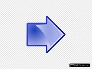 Arrow Blue Right